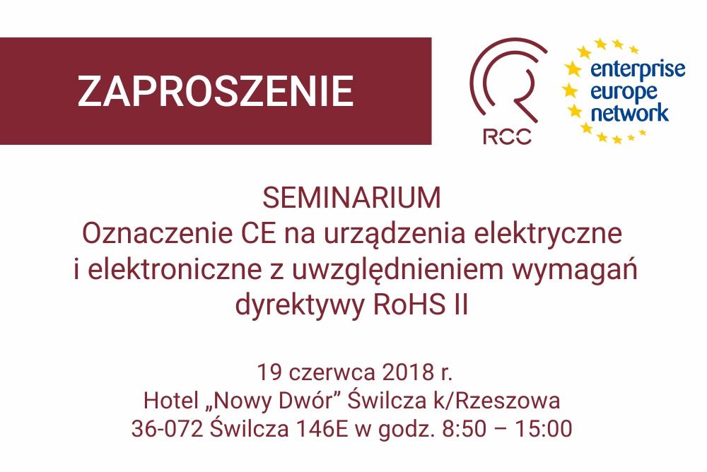 RCC-EEN zaproszenie