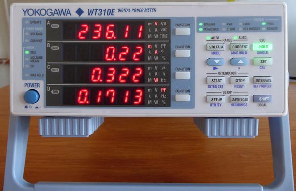 Miernik mocy WT-310E firmy Yokogawa