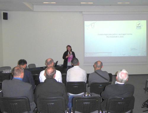 Ośrodek Badawczo Rozwojowy RCC Sp. z o.o. na Targach Techniki Świetlnej LUMENexpo